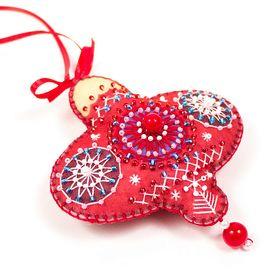 Набор для шитья и вышивания сувенир Матренин Посад 8462 Красный фонарик