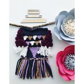 """Набор для ткачества Woolla WL-0151 """"Черная жемчужина"""""""