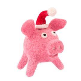"Набор для валяния Woolla WT-0181 ""Новогодняя Хрю"""