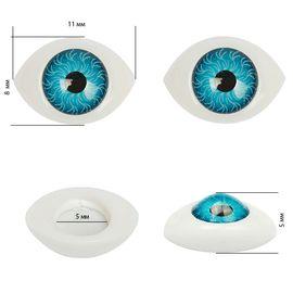 Глаза круглые выпуклые цветные