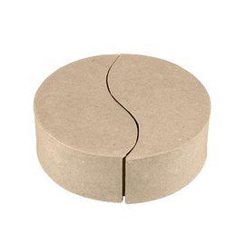 Коробка круглая из папье-маше PAM-060