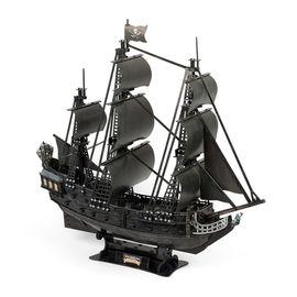 """Сборная модель корабль """"Месть Королевы Анны"""" пенополистирол"""