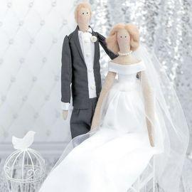 Свадебные куклы Mr&Mrs