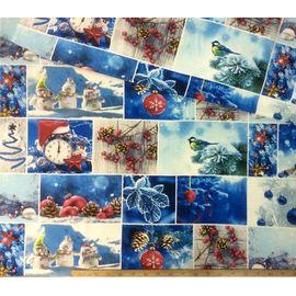 ткань новый год купить в Москве
