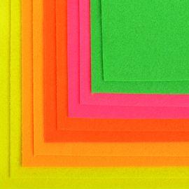 Фетр листовой флуоресцентный