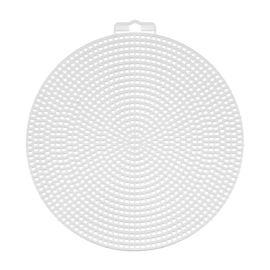 Пластиковая канва фигурная, круг d 15 см - 10 шт