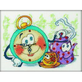 часы вышивка РТО