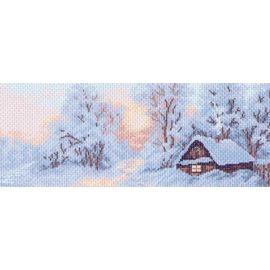 """Канва с рисунком Матренин посад 1202 """"Морозное утро"""""""