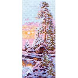 """Канва с рисунком Матренин посад 1205 """"Зимнее утро"""""""