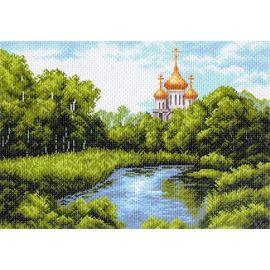 Канва с рисунком Матренин посад 1354 Тихая заводь