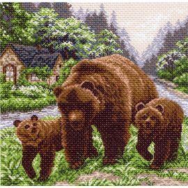 "Канва с рисунком Матренин посад 1129 ""Медвежий угол"""