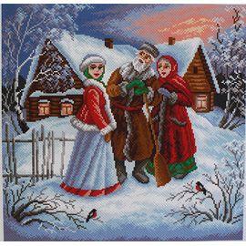 "Канва с рисунком Матренин посад 1466 ""Внученька"""