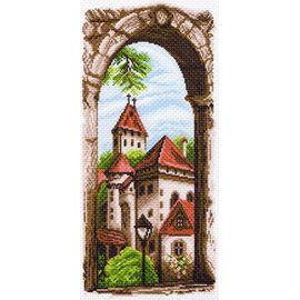 "Канва с рисунком Матренин посад 1497 ""Крыши старого города"""