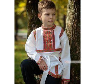 """Русская рубашка для мальчика фольк """"Косоворотка"""""""