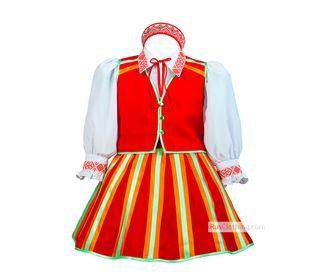 Народный костюм для девочки Литовский