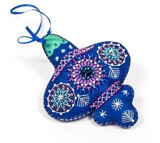 Набор для шитья и вышивания сувенир Матренин Посад 8463 Синий шарик