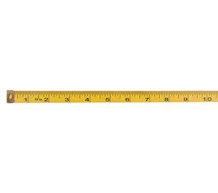 Сантиметровая лента дюймы и сантиметры купить
