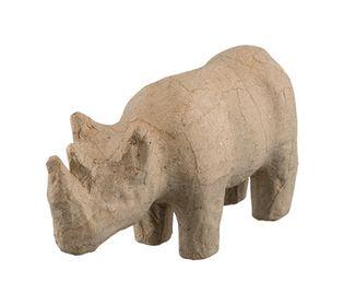 Носорог из папье-маше PAM-089