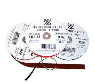 Лента бархатная эластичная VRE-20
