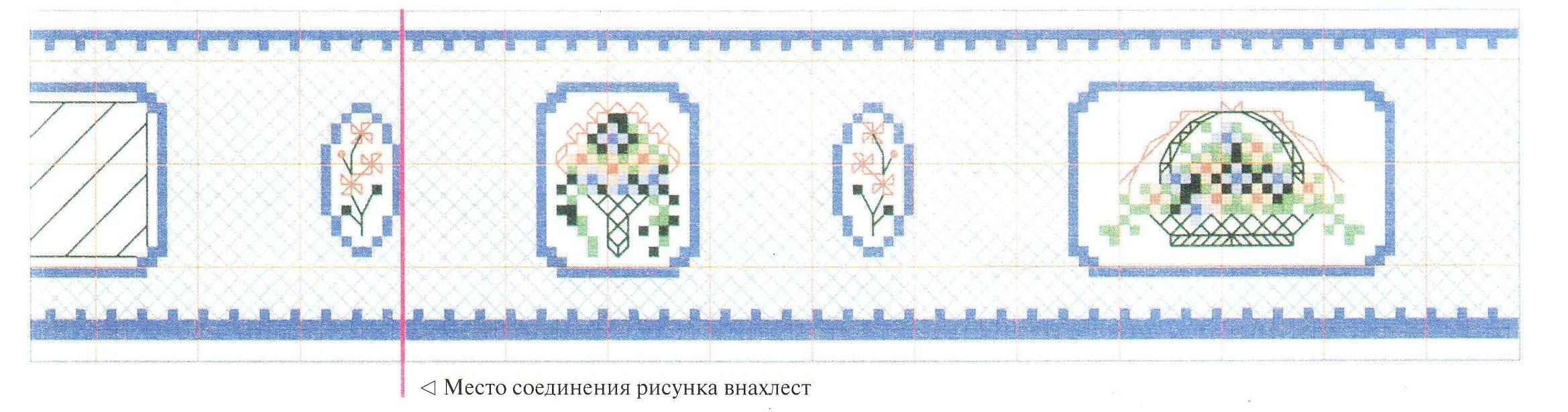Вышивка крестом коробочка схем 43