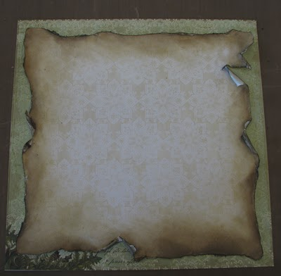 Как сделать рваные края бумаги в скрапбукинге