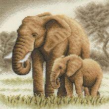 вышивка слоны
